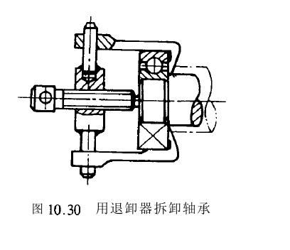 滚动轴承结构设计, 滚动轴承的结构简图-正航仪器